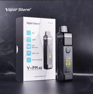 บุหรี่ไฟฟ้าพอด POD Vapor Storm V-PM40